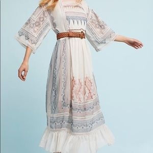 Anthropologie Maeve peasant dress